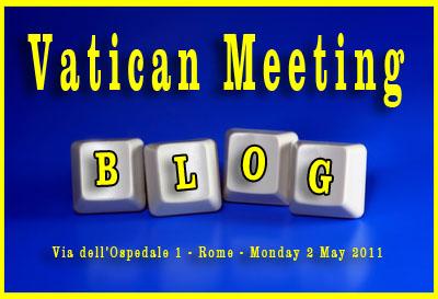 Rencontre de blogueurs au Vatican
