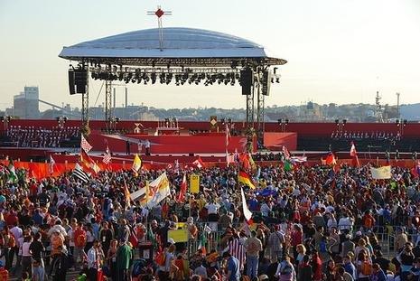 Les Journées Mondiales de la Jeunesse à Madrid