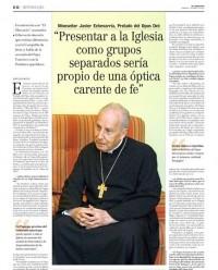 interview prelat opus dei